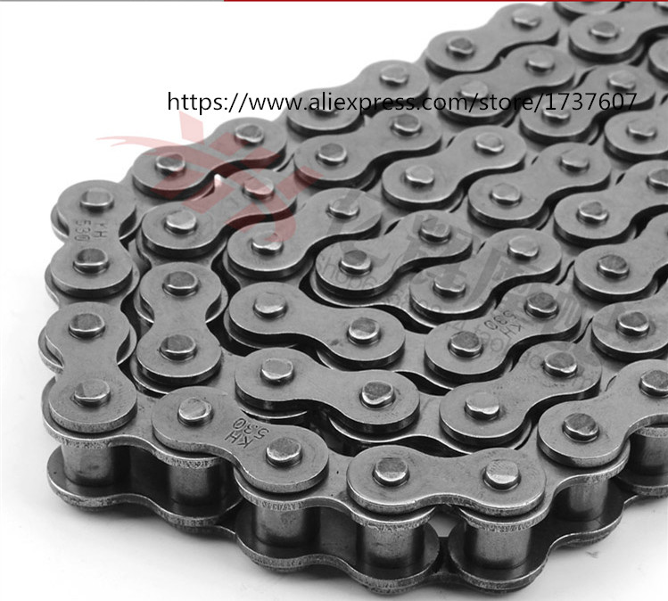1pcs High Quality Motorcycle Chain Sets For 428 chain 136 Link 520 525 530 chain 120