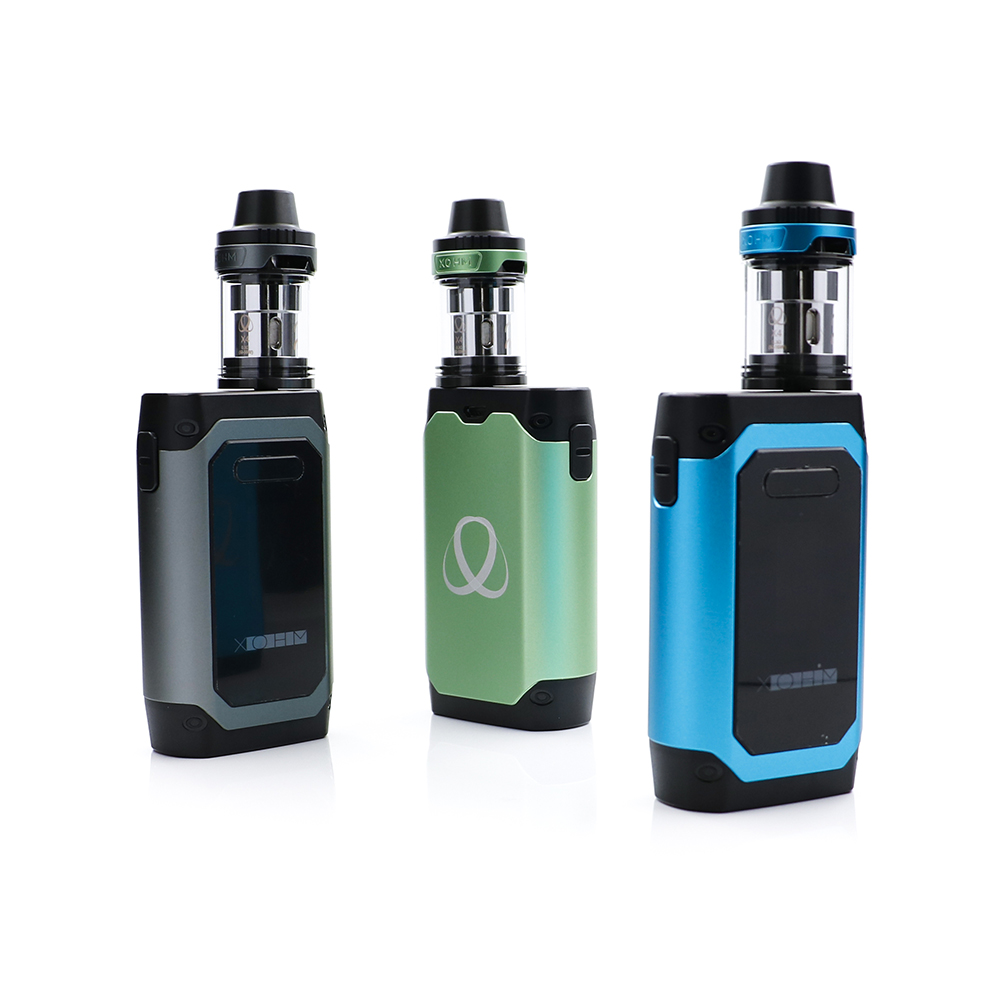 Newest Xohm H2 Kit 5000mAh built in battery electronic cigarette full kit with H2 box mod and X4 ecig atomizer high ivy queen orange full buttons mod kit for ps4 playstation 4 controller r2 l2 trigger with symbol triangle circle square x button