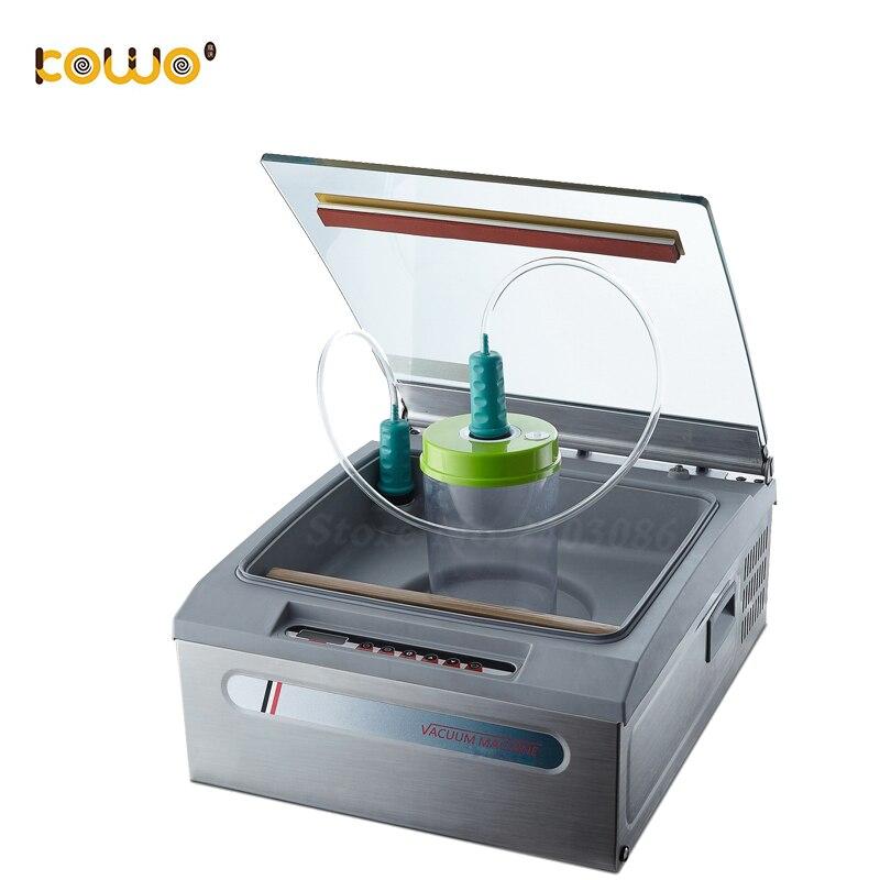 Machine automatique de scellage sous vide de nourriture électrique Machine à emballer sous vide de fruit végétal