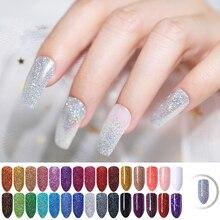 10g/bag Holographic Laser Nail Powder Art Glitter 5g Shimmer Chrome Pigment Dust DIY Design for Gel Polish