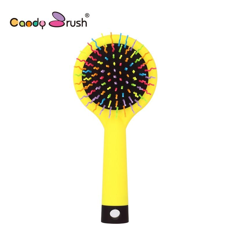 New Rainbow Volume Hairbrush Magic Hair Comb Anti Static
