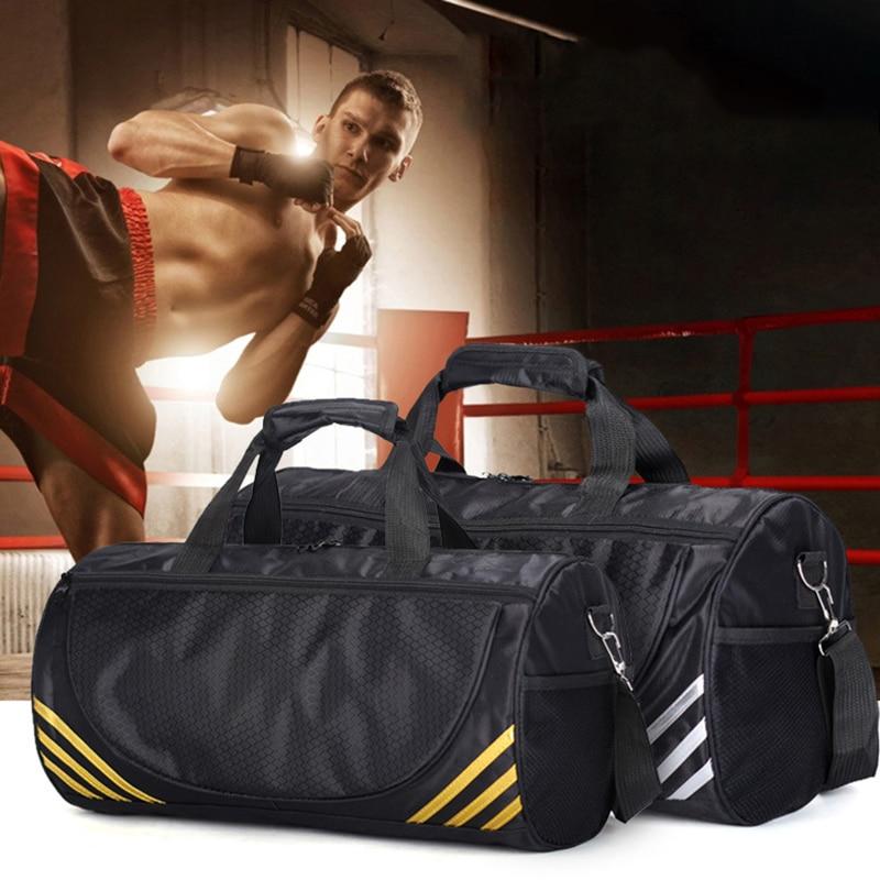 FJUN Gym Sport Bags Men and Women Quality font b Fitness b font Waterproof Multi function