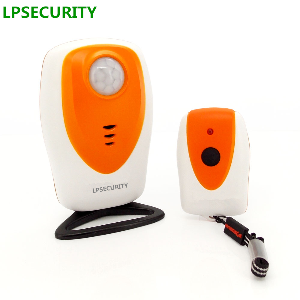 LPSECURITY 5m Range Outdoor Infrared Camping Self-defense Remote Alarmsensor Kit/beach Camping Infrared Perimeter Protector