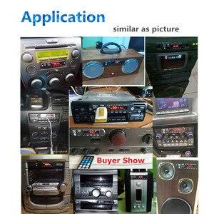 Image 5 - KEBIDU 5V 12V Bluetooth MP3 WMA FM AUX décodeur Module Audio FM TF Radio Automobile voiture MP3 haut parleur accessoires pour voiture