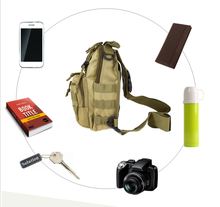 One Strap Tactical Backpack 600D- Outdoor, Hiking, Trekking, Fishing, Cycling