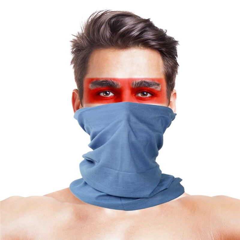 Камуфляжный шарф с высоким прыжком, бандана для мужчин и женщин, маска для лица, тактическая, для улицы, волшебный головной убор, для кемпинга, пешего туризма, шейный шарф - Цвет: 043