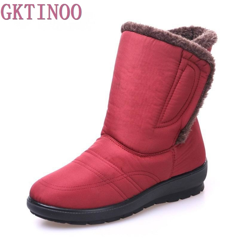 Snow Boots Winter Warm Non-slip Waterproof Women Boots Mother Shoes Casual Cotton Winter Autumn Boots Female Shoes moc 1128pcs the batman movie bane s nuclear boom truck super heroes building blocks bricks kids toys gifts not include minifig