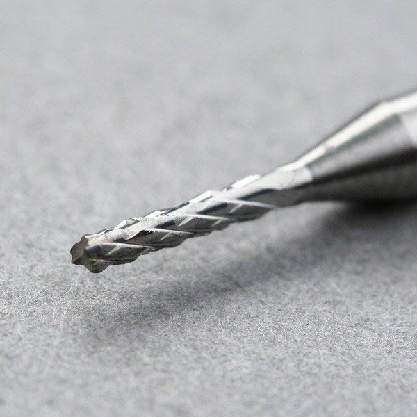 Argedo 10 x Карбид PCB CNC гравировальные биты конец фреза SHK 3,175 мм диаметр края 1/1. 2/1. 5 мм