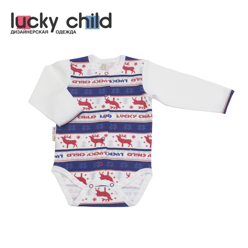 Bodysuits Lucky Child for girls and boys 10-6 Newborns Babies Baby Clothing Children clothes tank tops made in russia