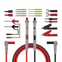P1503D multímetro sondas agujas reemplazables Kits de cables de prueba sondas para multímetro Digital Cable Feeler para multímetro Cable Ti