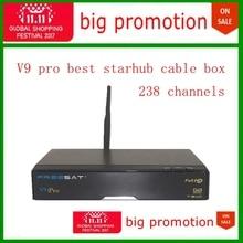 12.12 satışa en istikrarlı starhub kablo kutusu 238 starhub kanal ücretsiz izle futbol oyunu freesat V9 pro Singapur starhub