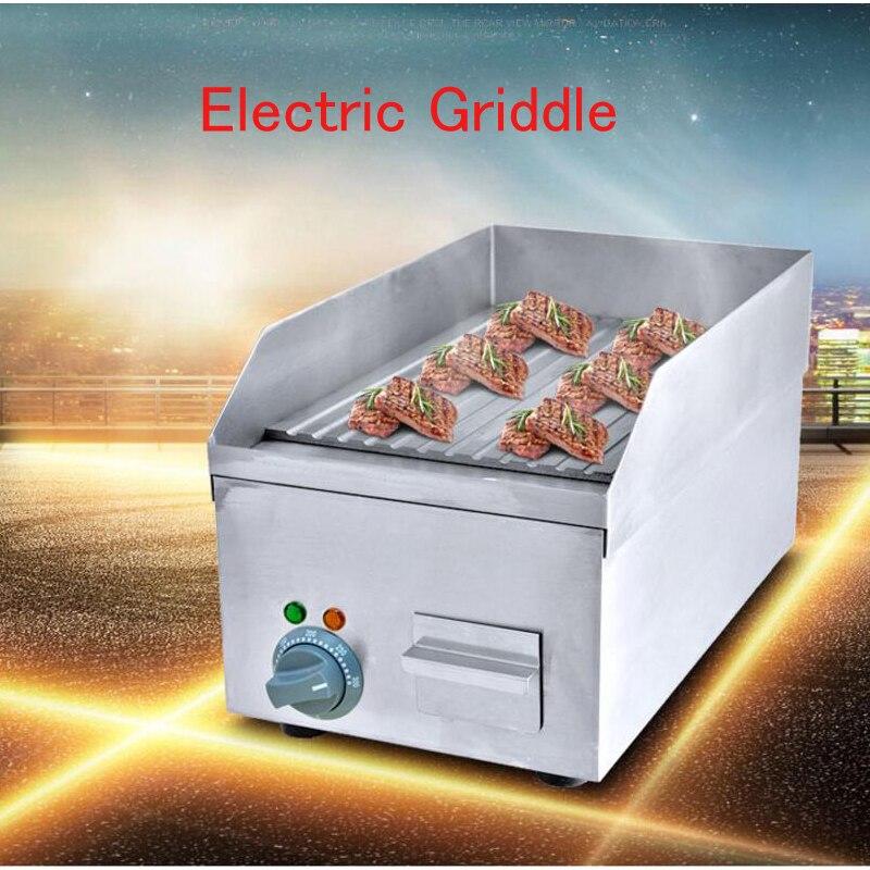 где купить Electric Griddle Teppanyaki /Beef/ Steak Grilling Machine Commercial Meat Frying Wave Plate  FY-250A по лучшей цене