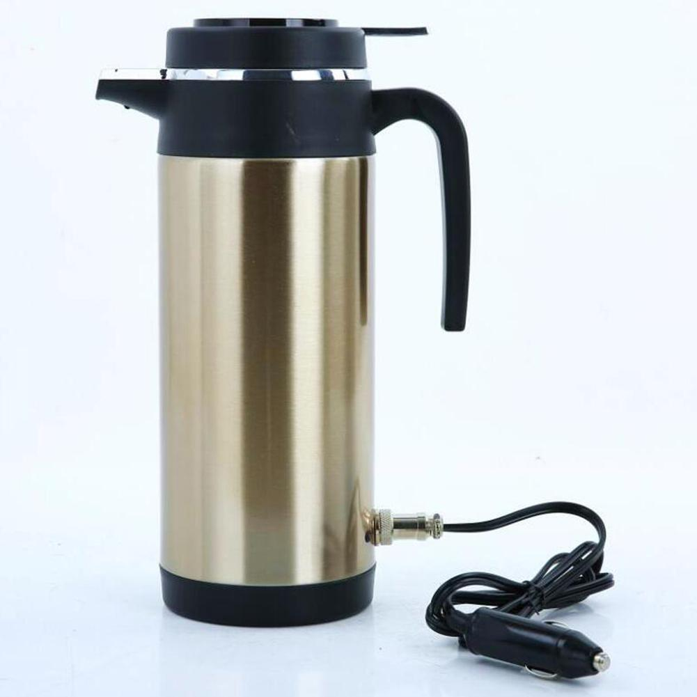 Adoolla 1200ML 12V/24V High Capacity Vehicle-mounted Electric Kettle Vacuum Cup For Trucks Cars