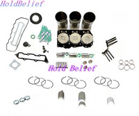Novo Motor Rebuild Kit Overhaul Para Yanmar 3D76E 3TNV76