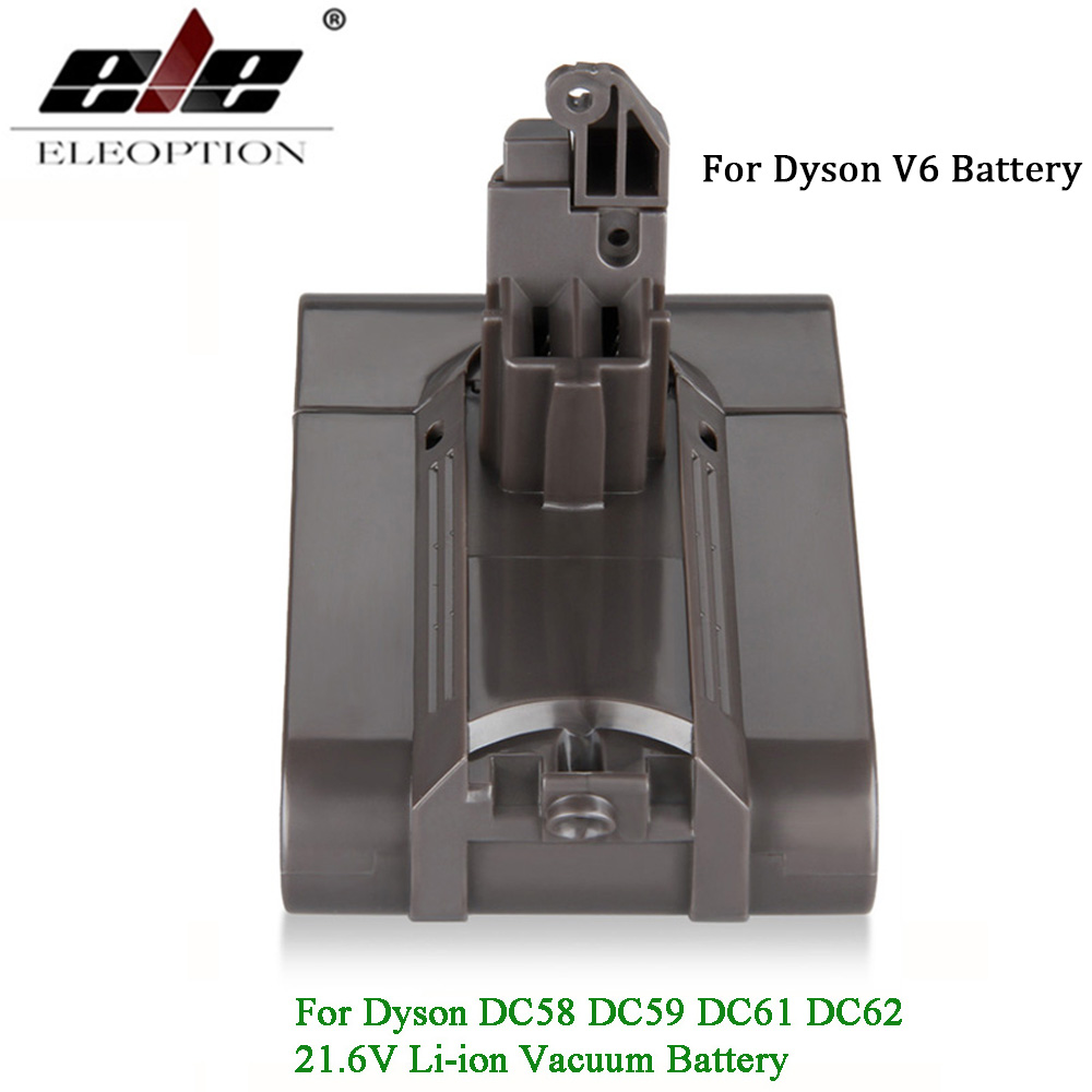 V6 21.6V 3000mAh Li-ion Battery for Dyson V6 Battery for DC58 DC59 DC61 DC62 Vacuum Cleaner 965874-02 hi q 21 6v 2200mah li ion rechargeable battery replacement for dyson battery dc61 dc62 dc72 dc58 dc59 965874 02 vacuum cleaner