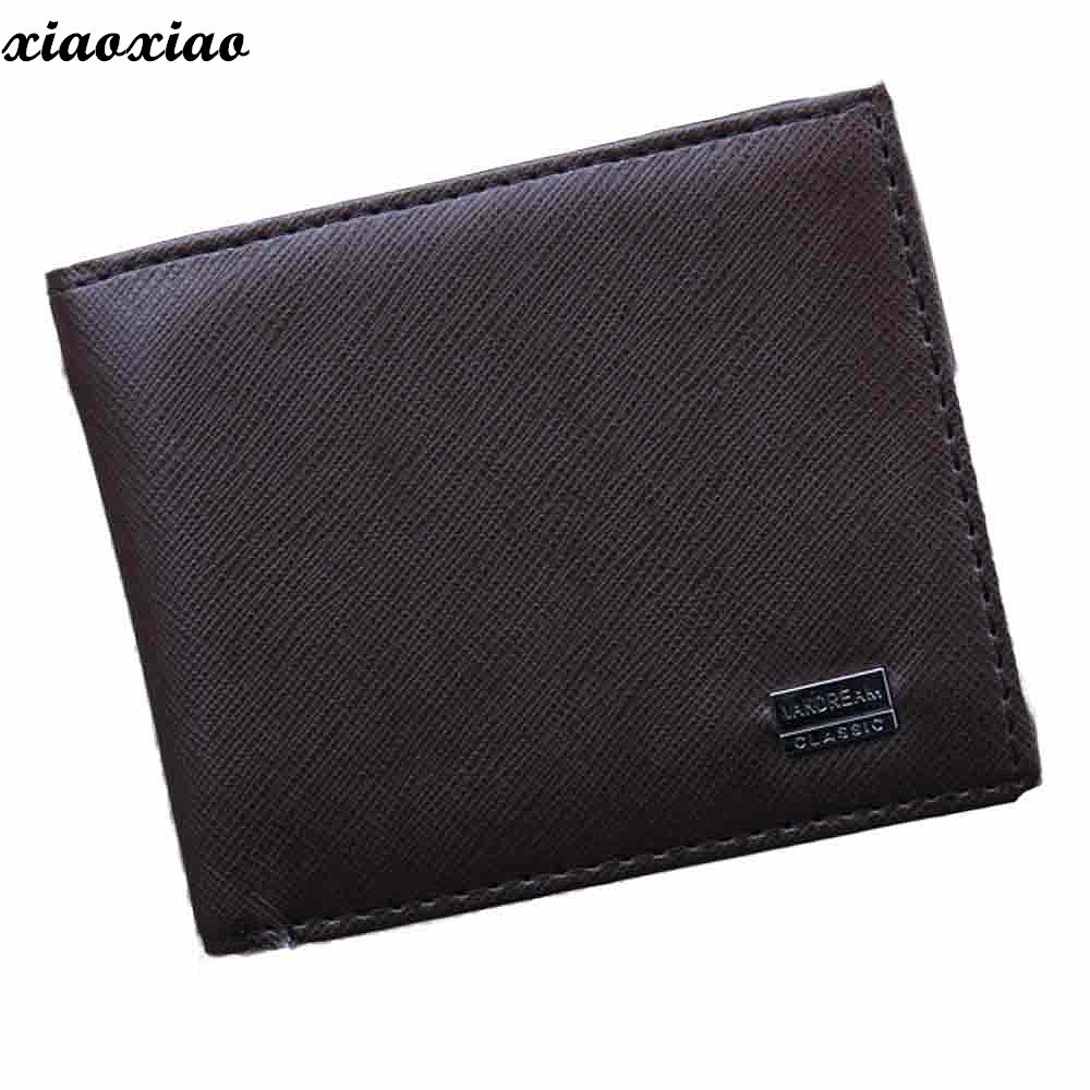 Wallet Top Quality Men Bifold Business Leather ID Credit Card Holder Purse Pockets For Handsome Carteira Billetera