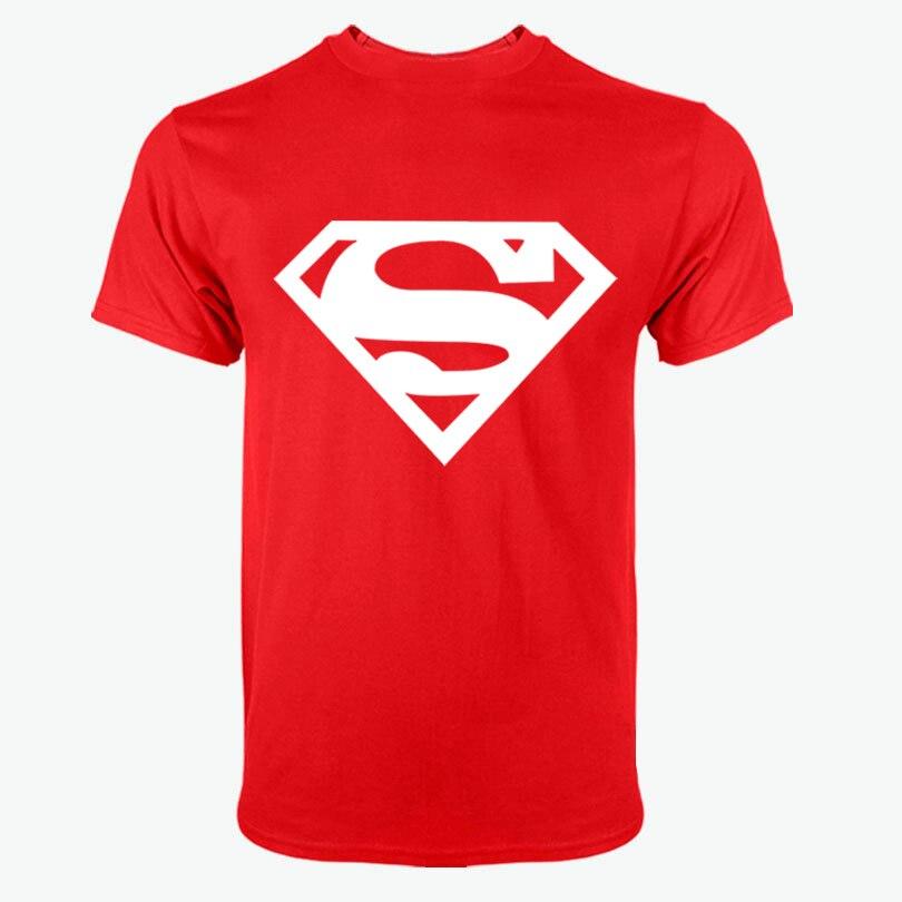 2018Comic LOGO Super Hero T Shirt Superman Batman Captain America the Flash Marvel Movie Men Cosplay T-Shirts superhero Geek Tee