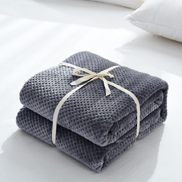 CAMMITEVER Microfiber Flannel Throw Blanket, for Traveling, Hiking, Camping , TV, Cabin, Couch, Bedcover. All Season Super Soft