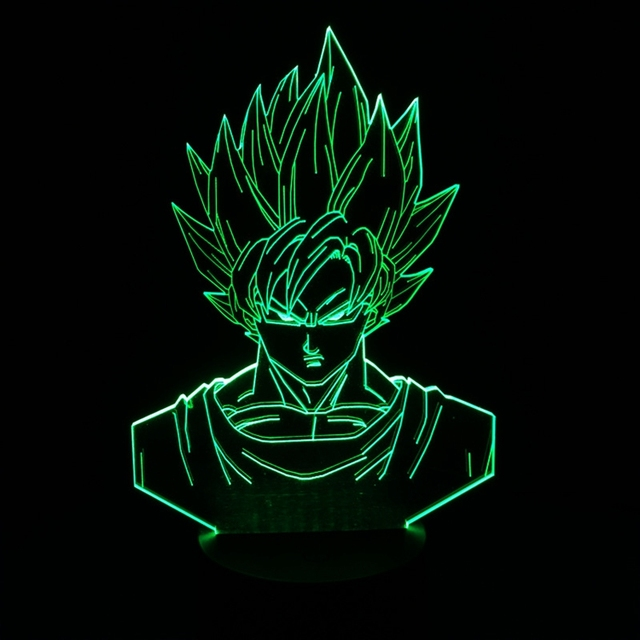 Dragonball Lampe Dragon Ball LED Night Light Lamp Lampara Son Goku Decoration Home Led Lamp Kids Toys Christmas New Year Gifts