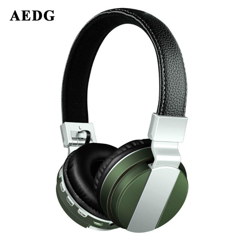 aedg ear phone metal folding test bluetooth headset 4 0. Black Bedroom Furniture Sets. Home Design Ideas
