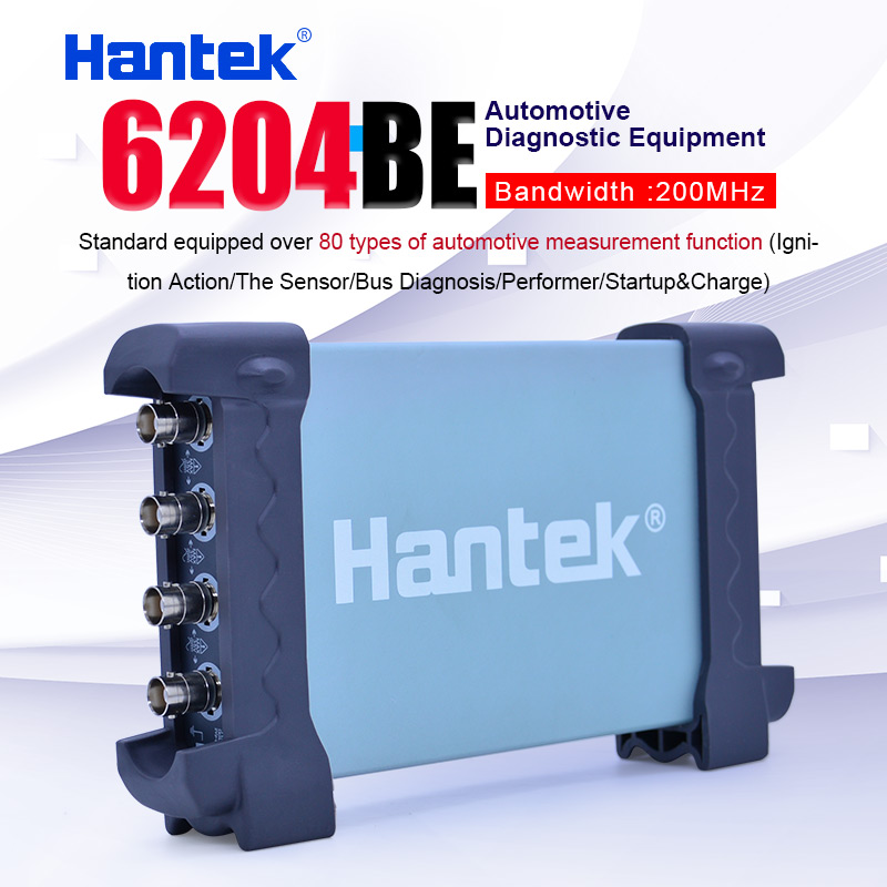 Hantek 6204BE 200MHz Automotive oscilloscope 4 Channels 1Gsa/s Portable USB PC Handheld Digital Osciloscopio Diagnostic-tool image