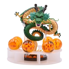 15cm Anime Dragon Ball Z Action Figures Shenron Dragonball Set Esferas Del 7pcs 3.5cm Balls Shelf Figuras