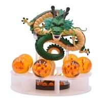 15cm Anime Dragon Ball Z Action Figures Shenron Dragonball Z Figures Set Esferas Del Dragon 7pcs 3.5cm Balls Shelf Figuras