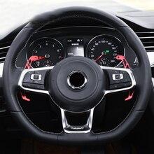 Руль Переключатели скоростей на руле для VW Tiguan MK2 R line/GOLF GTI MK7/GOLF R MK7/Гольф GTD MK7/Гольф ГТД/passat B8 R линии