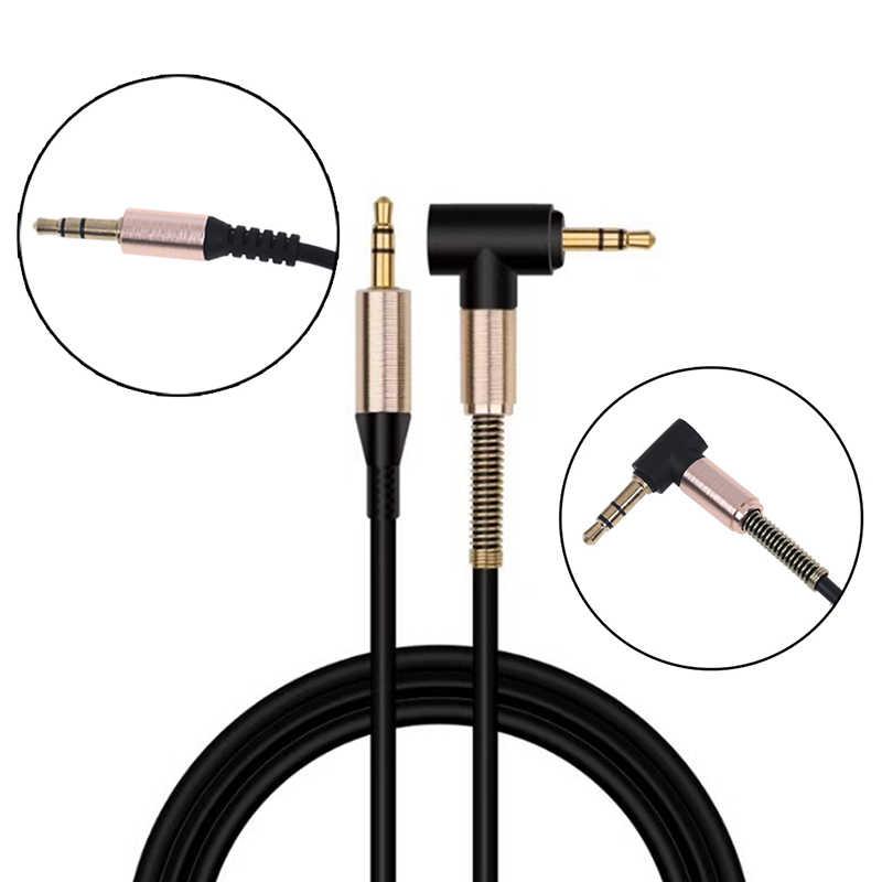 3.5mm Jack rozszerzenie audio kabel Aux przewód do iphone'a XS Max XR XS X 10 8 7 6 Plus głośnik samochodowy złącze słuchawkowe