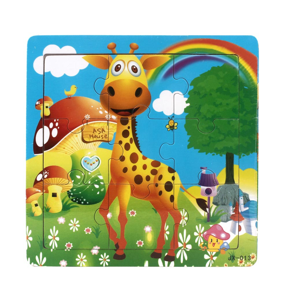 CHAMSGEND 2018 Wooden Kids Jigsaw Toys For Children Education And Learning Puzzles ToyJul31