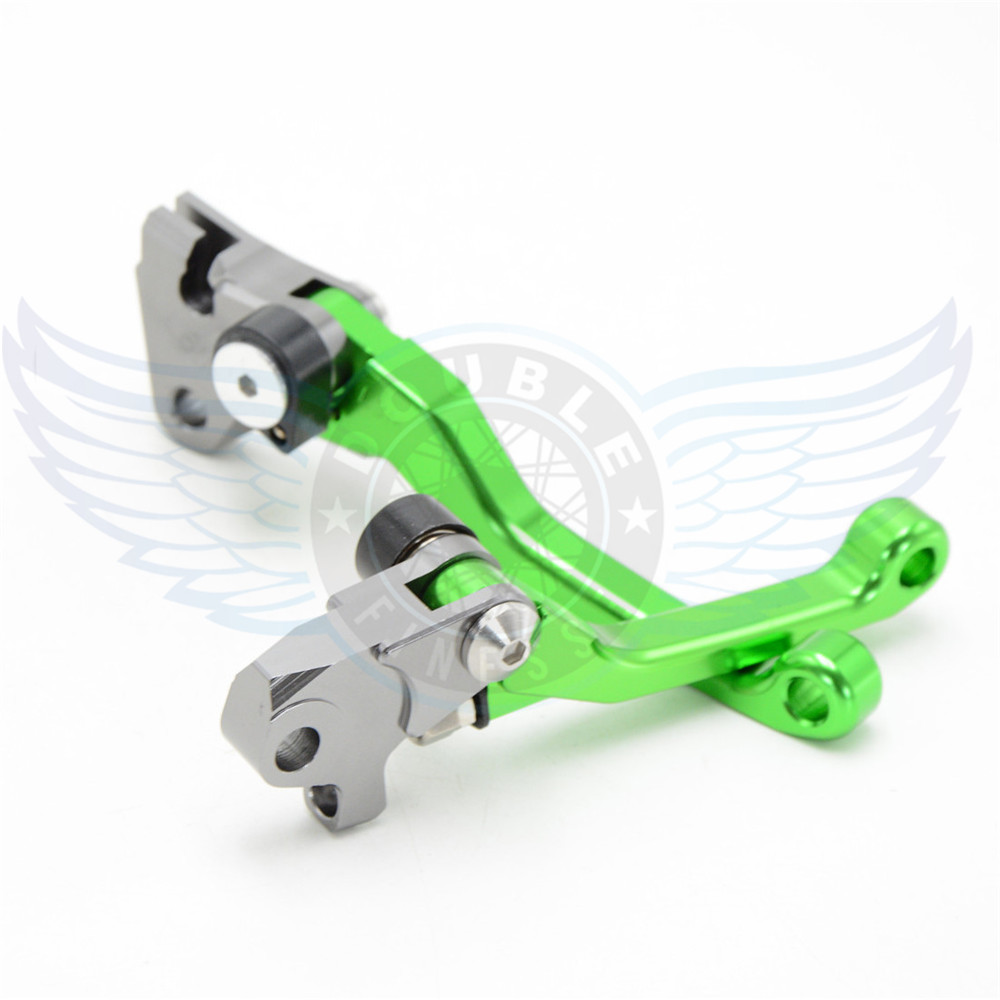 ФОТО hot sale motorcycle Pivot Brake Clutch Levers cnc brake clutch lever For Kawasaki KX85  01 02 03 04 05 06 07 08 09 10 11 12