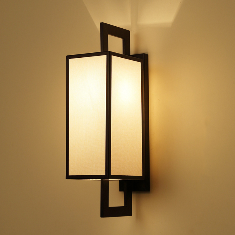 chinese classic cloth wall light sconce bra living room restaurant toilet teahouse room aisle. Black Bedroom Furniture Sets. Home Design Ideas