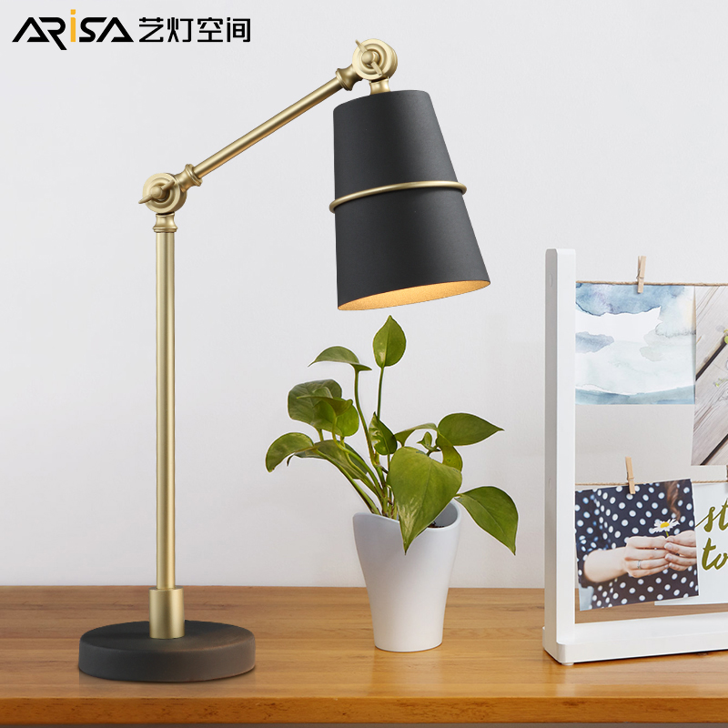Nordic LED Indoor table lamps Bedroom desk lights home Fixtures Post-Modern Novelty study room table lighting nordic desk lamp simple modern bedroom fixtures bedside study lighting led lights decorative table lamps