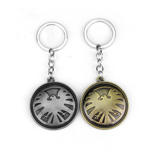 MQCHUN Hot Movie Jewelry DC Marvel Comics Agents of S.H.I.E.L.D. Keychain Shield Badge Pendant Necklace The Avengers Men Gift dc comics the sequential art of amanda conner