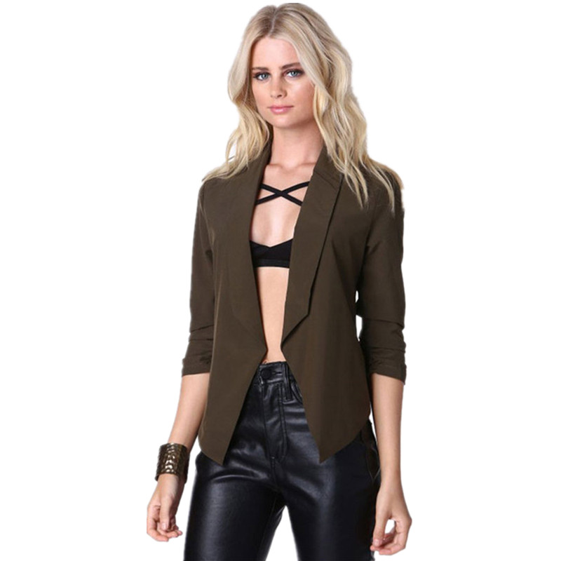Green Blazer Womens