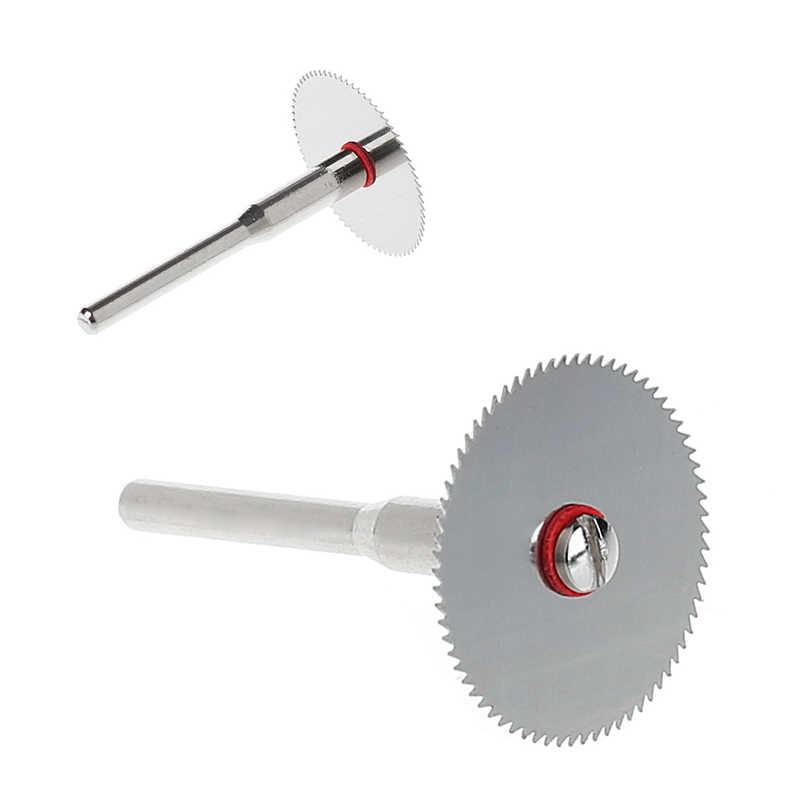 10ชิ้น/เซ็ตไม้Saw Bladeแผ่นดิสก์ + 2 X Rod Dremelโรตารี่เครื่องมือตัด10X25มม.การจัดส่งสนับสนุน