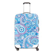 6 Elastic travel trolley accessories violetta girls print waterproof luggage cover 22-26inch travel suitcase protective dust cover