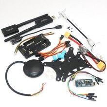 APM2.8 ArduPilot Mega 2.8 APM Scheda di Controllo di Volo + 6M /7M GPS + 3DR 500MW Radio telemetria 915Mhz + Mini OSD