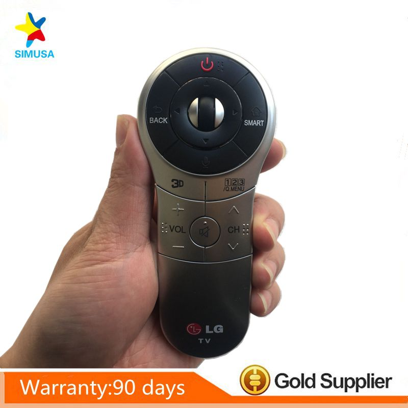 Original English Version Magic Motion Remote Control AN MR400G for LG 2013 Smart TV LA6200 LA6500 Series with Manual