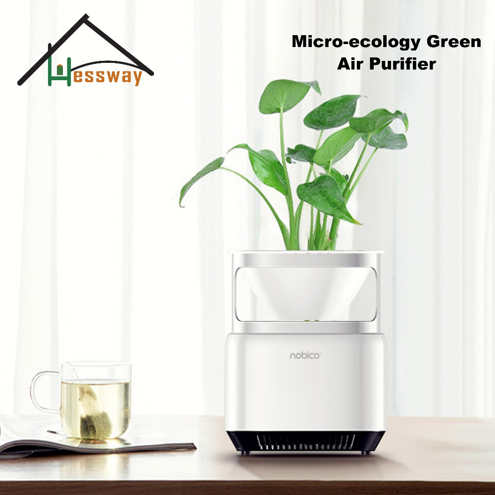 Popular More Eefficient Purification Negative Ion Generator Micro ecology Green Air Purifier