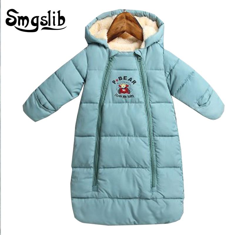Bébé sac de couchage hiver Épais Chaud Nouveau-nés sac de couchage enfants en bas âge dormant sac pour poussette Poussette Accessoire fauteuil roulant
