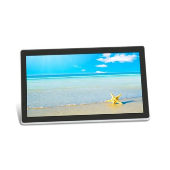 wall mount touch screen all-in-one computer android 14 16 20 23 inch all in one pc