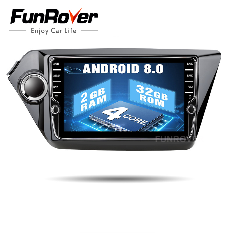 Funrover IPS Android8.0 Car dvd player for Kia k2 RIO 2010 2011 2012 2013 2014 2015 gps navigation Car Radio video tape recorder ectwodvd wince 6 0 car multimedia player for mazda 3 2010 2011 2012 2013 2014 2015 2016 car dvd video gps navigation radio