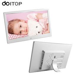 DOITOP 10 cal LED LCD fotografia cyfrowa rama ultracienki HD elektroniczny Album fotograficzny Album MP3 muzyki MP4 odtwarzacz filmów z pilotem zdalnego sterowania C4