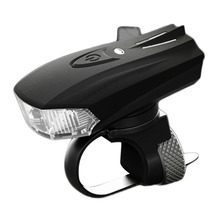 400lm MTB Road Mountain Bike Bicicleta Ciclismo Luz Inteligente Sensor de Luz de Advertencia Sensor de Choque Frontal LED de Carga USB Lámpara de Noche