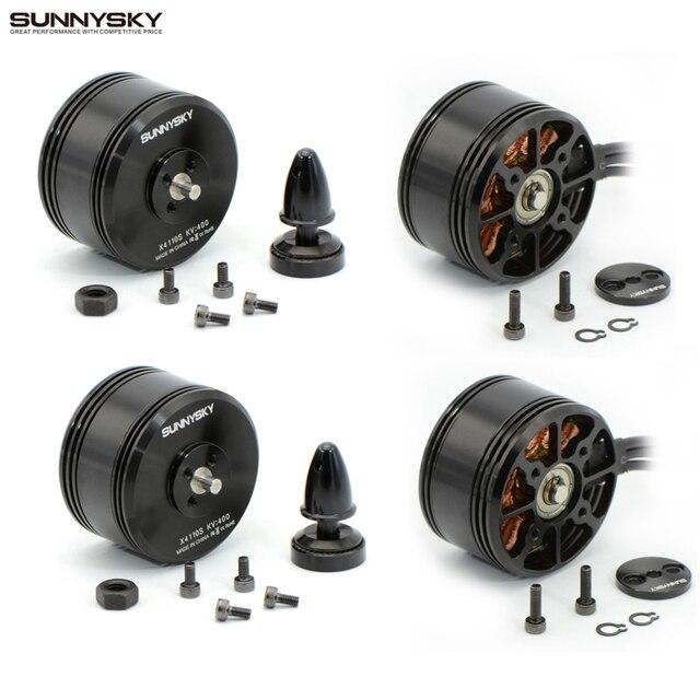 4pcs/lot SUNNYSKY X4110S 340KV 400KV Brushless Disc Motor for Multi-rotor Aircraft multi-axis motor disc motor