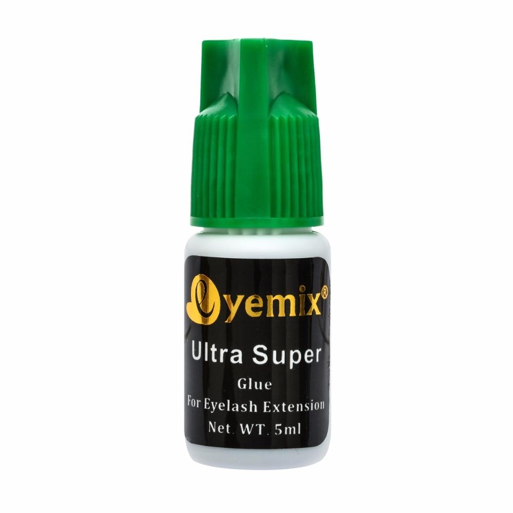 Eyemix 5 ml Schnell Trocknende Individuelle Wimpernverlängerung Kleber Smelless lash klebstoff Nicht empfohlen für Kunden mit empfindliche augen