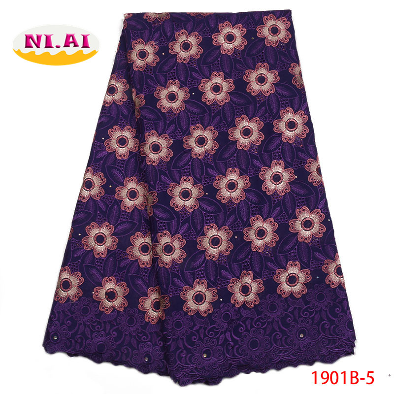 African Swiss Voile Lace 2018 High Quality Swiss Voile Lace In Switzerland Cotton Lace Fabric Lace