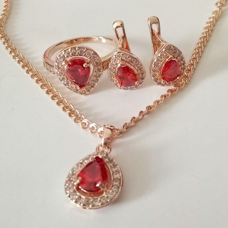 1Set Luxurious Wedding Jewelrys