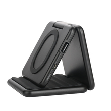 A600 Qi Wireless Charger Foldable Mobile Phone Stand Vertical Wireless Mobile Power Bank Wireless Charging Treasure